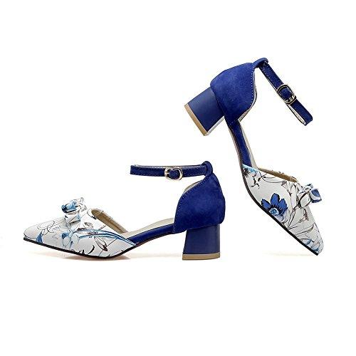 Compensées Femme Sandales Sandales Compensées BalaMasa BalaMasa Bleu Bleu Sandales BalaMasa BalaMasa Bleu Femme Compensées Sandales Femme 6w880qB