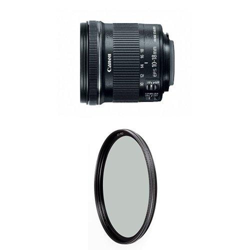 /4.5-5.6 IS STM Lens w/ B+W 67mm XS-Pro HTC Kaesemann Circular Polarizer ()