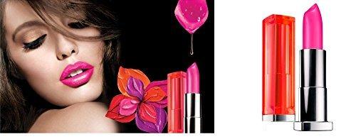 Myb Lip Fuchsia Clr Sen V Size .15 F Maybelline Color Sensational Vivids Lip Color Fuchsia Flash ()