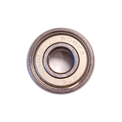 Rollerblade Inline Skate HTO Racing Bearings, Silver, One Size ()