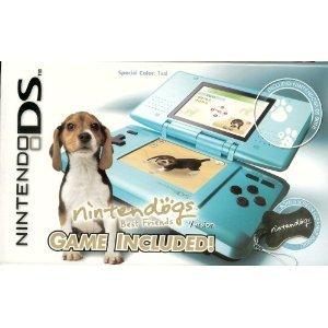 - Nintendo DS Teal with Nintendogs Best Friends Bundle