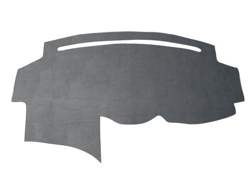 Suede, Gray Compatible with 1997-2003 Ford Pick-up F-150 Custom Dash Cover Mat