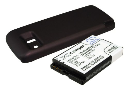 Price comparison product image Extended Battery for Nokia 5800,  5800T,  5800 Xpress Music (with cover)