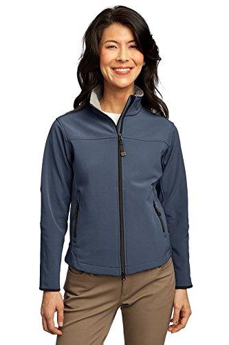 port-authority-l790-ladies-glacier-soft-shell-jacket-atlantic-blue-chrome-l790-4xl