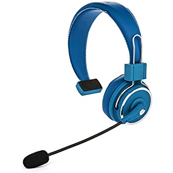 91bdf05595f Blue Tiger Elite Premium Wireless Bluetooth Headset – Professional  Truckers' Noise Cancellation Head Set with Microphone – Clear Sound, Long  Battery Life, ...