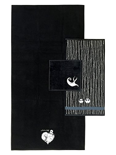 Disney Nightmare Before Christmas Meant To Be 3-Piece Cotton Towel Set