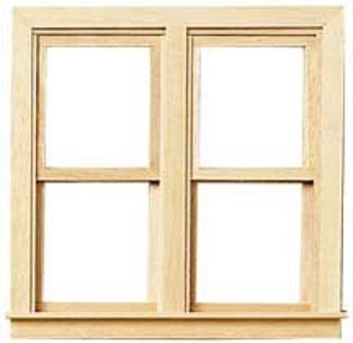 It's Totally Minis Dollhouse Miniatures Window, Double Working #ITM0458 ()