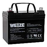 Weize 12V 35AH Rechargeable SLA Deep Cycle AGM Battery Replaces 12 Volt 33AH, 34AH, 36AH
