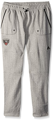 (adidas MLS D.C. United Ultimate Worn French Terry Jogger Pants, X-Large, Medium)