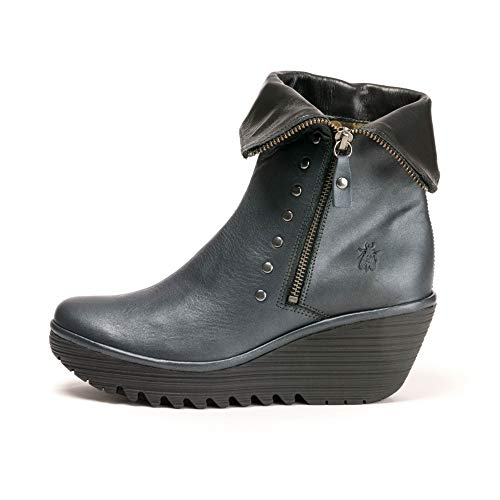 Womens Black Fly YEMI902FLY Boot London Graphite E4AzqwxA