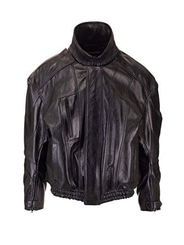 Balenciaga Luxury Fashion Mens 594593TGS041000 Black Outerwear Jacket | Fall Winter 19