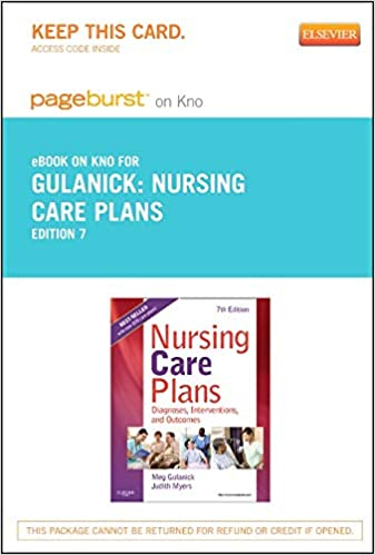 Nursing Care Plans Ebook