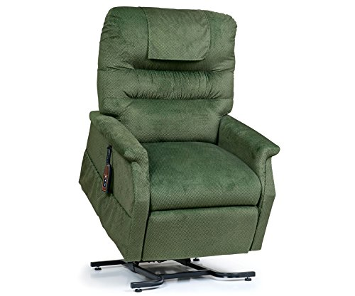 - Golden Technologies Monarch PC-355M Medium Lift Chair 3-Position Recliner - PR355-MED Spring Green Fabric