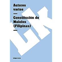 Constitución de Malolos (Filipinas) (Leyes) (Spanish Edition)