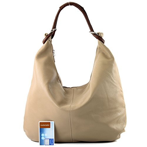 Femme Pour Cabas Italy Made Beige braun SAtHwH
