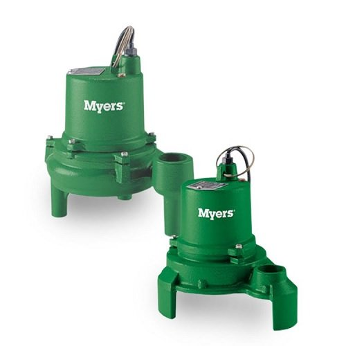 Myers ME3F-11P Effluent Pump 0.33 HP 115V 20 Foot Cord Automatic