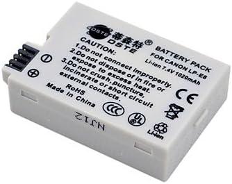Gill DSTE 7.4V 1020mAh LP-E8 Li-ion para Canon EOS Kiss X4 Rebel T2i 550D 600D: Amazon.es: Electrónica