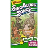 Sing Along Songs: The Bare Necessities - The Jungle Book [VHS]