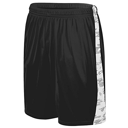Augusta Sportswear Men's Sleet Training Short 2XL Black/White ()