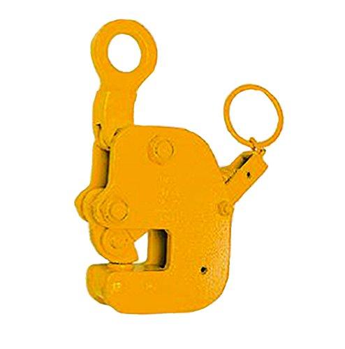 三木ネツレン 縦吊り横吊兼用クランプ HV-G型 手動ロック式 HVGS5 使用荷重1/2t クランプ範囲0-20mm フェイス巾の短いものを吊るのに最適 コT【代不】 B06VXVYMG4