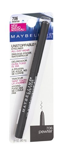Maybelline Unstoppable Eyeliner 706 Pewter by Maybelline by Maybelline New York