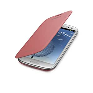 Samsung Galaxy S3 Flip Cover Case (Pink)