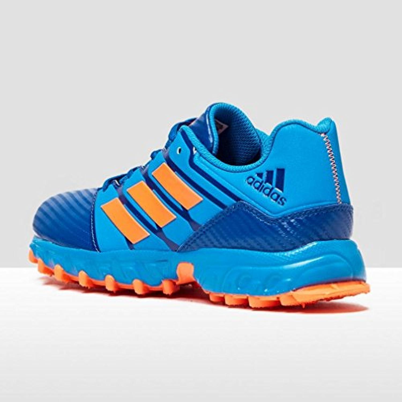 adidas adiPower II Junior Hockey Shoes, Blue, UK3