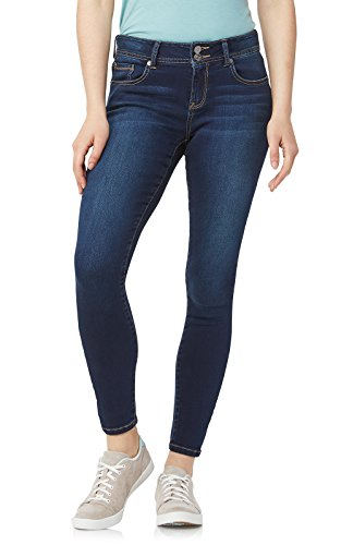 WallFlower Junior's InstaSoft Ultra Fit Skinny Jeans, Lake Pure, 13 ()