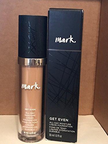 mark. By Avon Get Even Liquid Foundation MEDIUM 10