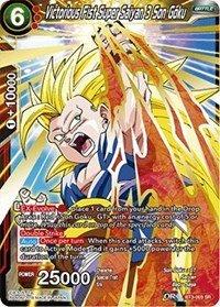 Dragon Ball Super TCG - Victorious Fist Super Saiyan 3 Son Goku - Series 3 Booster: Cross Worlds - BT3-003]()
