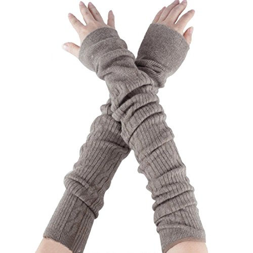 Wool Arm Warmers - 5