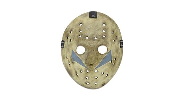 Viernes 13 Parte 5: A New Beginning Réplica 1/1 Máscara de Jason: Amazon.es: Juguetes y juegos
