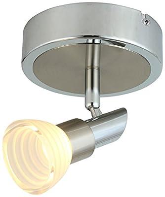 LED Adjustable Chrome Acrylic Spot light/ Track Lighting Ceiling light/Wall Sconce