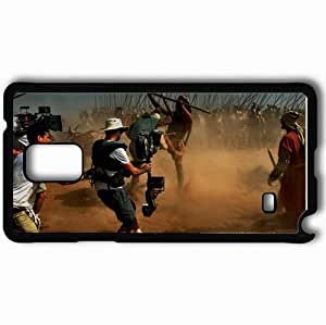 Personalized Samsung Note 4 Cell phone Case/Cover Skin A Alexander 9376 Black