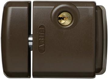 Abus FTS 3003 B - Cerrojo de presión con soporte para ventana o puerta corredera marrón: Amazon.es: Bricolaje y herramientas