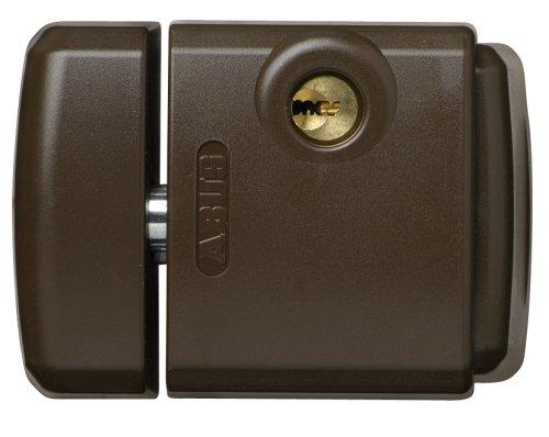 Abus FTS_3003_B - Cerrojo de presió n con soporte para ventana o puerta corredera marró n 284106