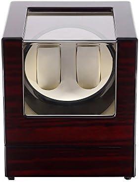 Kranich Automatic Watch Winder Box Luxury Wooden Storage Case