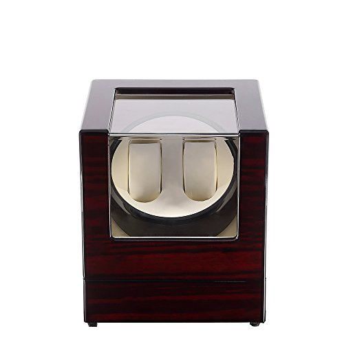 Kranich Automatic Watch Winder Box Luxury Wooden Storage Case