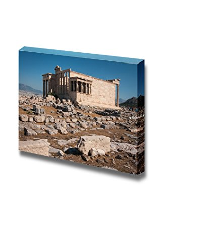 - wall26 - Canvas Prints Wall Art - Ruins of The Ancient Acropolis in Athens, Attica, Greece | Modern Wall Decor/Home Decoration Stretched Gallery Canvas Wrap Giclee Print. Ready to Hang - 24