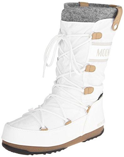 Donna Monaco Moon Boot Bianco Tecnica p7O1OFqxXw
