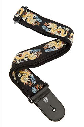 Woven Guitar Strap, Dragon Florida Sunshine Store (Florida Guitar Strap)