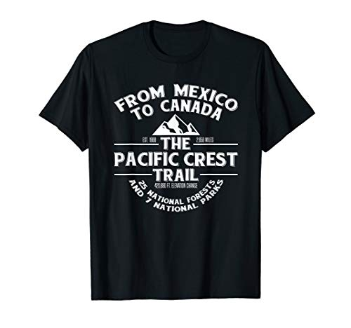 Pacific Crest Trail T SHIRT, PCT Gift