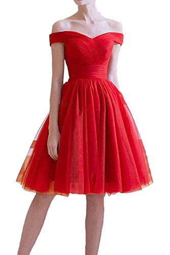 Brautmutterkleider Linie Rot Braut Marie Festlichkleider Rock Abendkleider Tuell Rot Kurzes A La Partykleider 8vwxnav