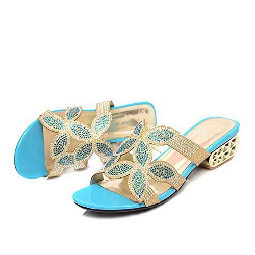 EU BalaMasa Blue Blu ASL05677 35 Donna Ballerine wanAYqra