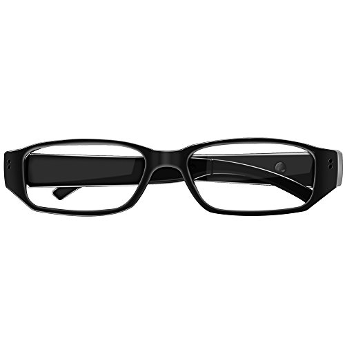 Sappywoon Hidden Camera Eyeglasses Loop Video Recorder Fashion Spy Camera Security Cam(Updated)