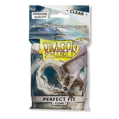 Dragon Shield Classic Purple + Inner Sleeve Sideloader Clear Standard Size 100 ct Card Sleeves Bundle: Toys & Games