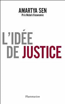 L'idée de justice par Sen
