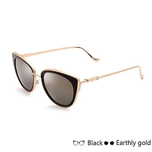 Sol De En La De Gold Gafas Espejo De Gafas Blanco De Mujer Sol Mercurio Lord Vendimia De Metal TIANLIANG04 El Eyewear nYgw5zqq