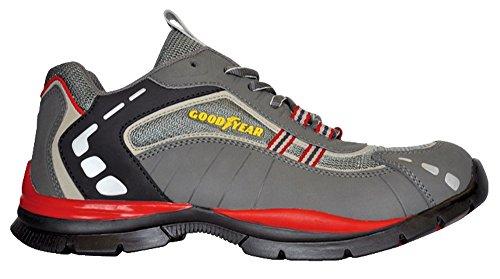 Goodyear EN345 S1 GoodYear G1383011 G3000 HRO 200 Joule Stahlkappe sportlich und leicht 43