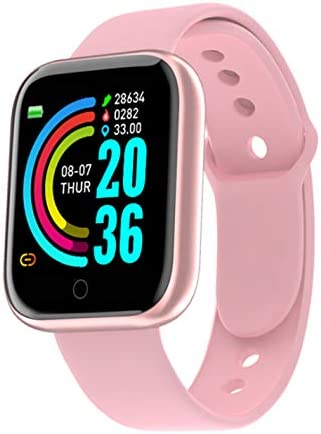 """LEBROMI Smart Watch Fitness Trackers with Heart Rate Monitor Step Calorie Counter Sleep Monitor, Waterproof Smartwatch 1.3"""" Touch Screen, Activity Tracker Pedometer for Women and Men…"""
